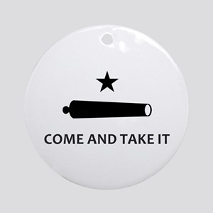 BATTLE OF GONZALES Ornament (Round)