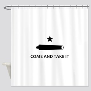 BATTLE OF GONZALES Shower Curtain