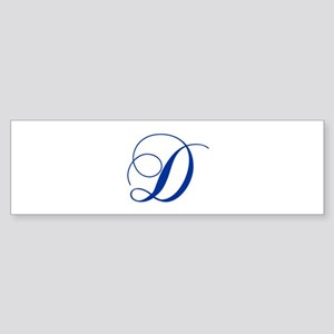D-cho blue2 Bumper Sticker