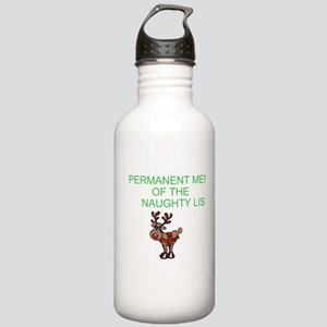 Naughty List Stainless Water Bottle 1.0L