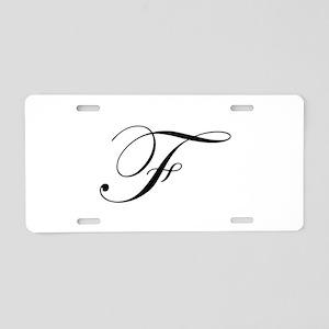 F-edw black Aluminum License Plate