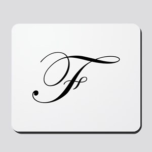 F-edw black Mousepad