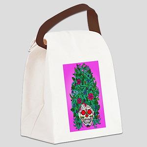 Sugar Antoinette Canvas Lunch Bag