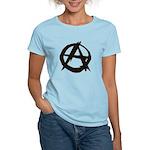 Anarchy-Blk-Whte Women's Light T-Shirt
