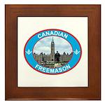 Proud Canada Mason Framed Tile