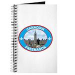 Proud Canada Mason Journal