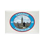 Proud Canada Mason Rectangle Magnet (100 pack)