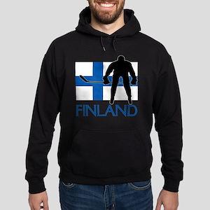 Finland Hockey Hoodie (dark)