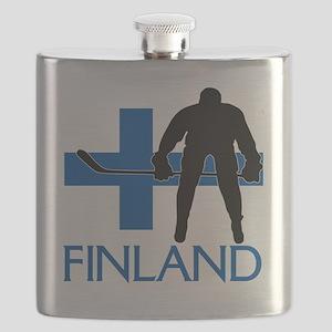 Finland Hockey Flask