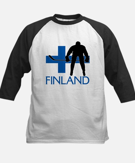 Finland Hockey Baseball Jersey