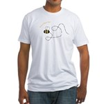 1st Bee Flying Fancy Fitted T-Shirt