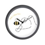 1st Bee Flying Fancy Wall Clock