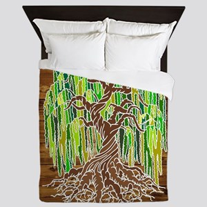 Willow Tree Queen Duvet