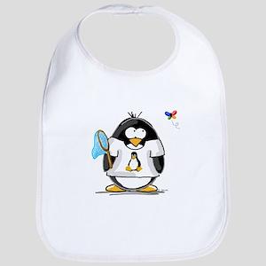 linux vs windows Penguin Bib