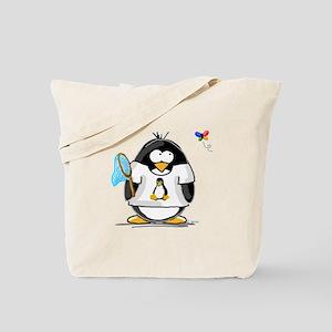 linux vs windows Penguin Tote Bag