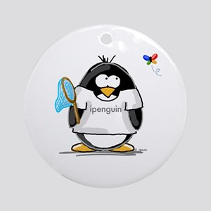 ipenguin Penguin Ornament (Round)