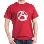 Anarchy-Blk-Whte Dark T-Shirt