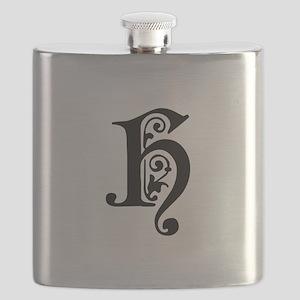 H-pre black Flask