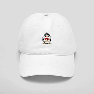 Heart tux Penguin Cap