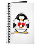 Heart tux Penguin Journal