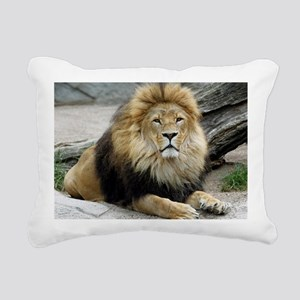 Lion_2014_1001 Rectangular Canvas Pillow