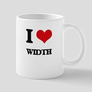I love Width Mugs