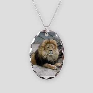 Lion_2014_1001 Necklace Oval Charm