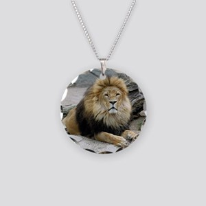 Lion_2014_1001 Necklace Circle Charm