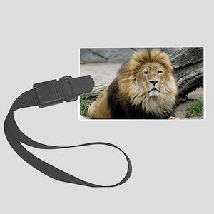 Lion_2014_1001 Large Luggage Tag