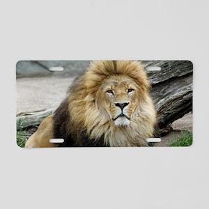 Lion_2014_1001 Aluminum License Plate