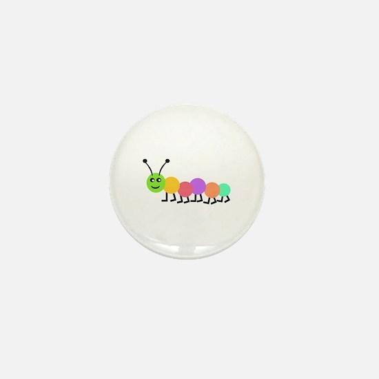 BOOKWORM Mini Button