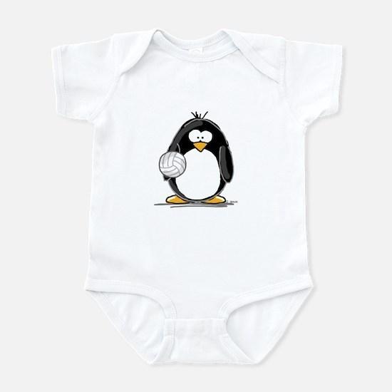 volleyball Penguin Infant Bodysuit