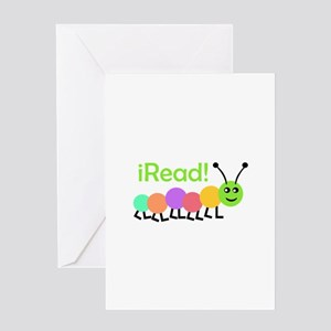 I READ Greeting Cards