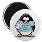 volleyball bump set spike Pen Magnet