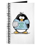 volleyball bump set spike Pen Journal