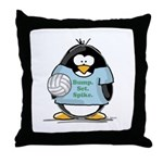 volleyball bump set spike Pen Throw Pillow