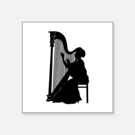 Harpist Sticker