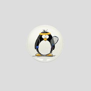 racquetball Penguin Mini Button