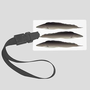 Aba African Knifefish Luggage Tag