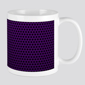 Purple Metal Mesh Mugs