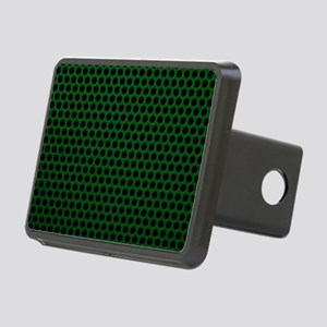 Forest Green Metal Mesh Rectangular Hitch Cover