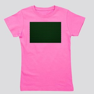 Forest Green Metal Mesh Girl's Tee