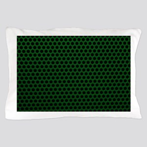 Forest Green Metal Mesh Pillow Case