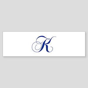 K-cho blue2 Bumper Sticker