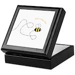 2nd Bee Flying Fancy Keepsake Box