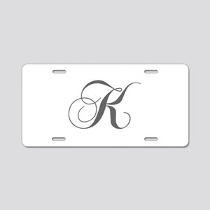 K-cho gray Aluminum License Plate