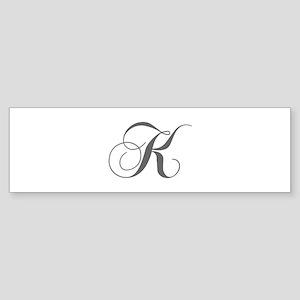 K-cho gray Bumper Sticker