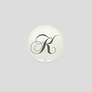 K-cho gray Mini Button