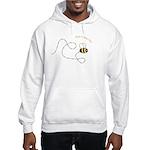 2nd Bee Flying Fancy Hooded Sweatshirt