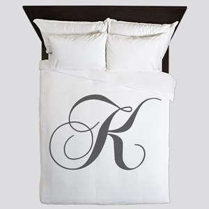 K-cho gray Queen Duvet